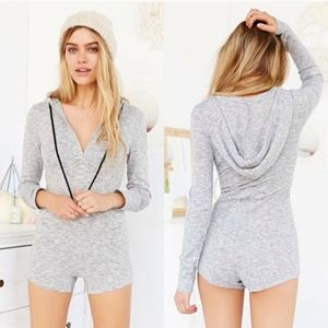 Urban Outfitters BDG Hooded Sweater Romper